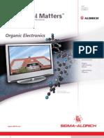 Organic molecules in electronics