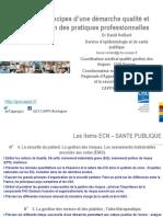 Principes d'une démarche qualité et évaluation des pratiques professionnelles DFASM 3