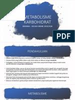 11. Metabolisme Karbohidrat (1)