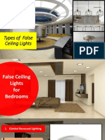False Ceiling Lights