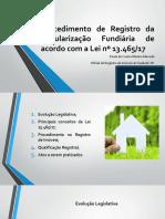 02 - Apresentação - Aula 2 - Regularização Fundiária - Paola