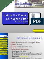 Uso Del Luxometro