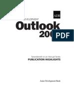 Asian Development Outlook 2005 Highlights