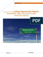 Online Marketing Report by Industry