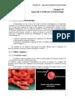 Chap IV-Appareils Et Methodes en Hématologie