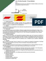 Qst de cours (gestion de projet + fct production)