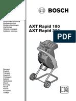 Bosch AXT Rapid 180 Garden Shredder