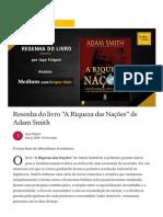 """Resenha do livro """"A Riqueza das Nações"""" de Adam Smith _ by Iago Folgoni _ Insper Liber _ Medium(1)"""