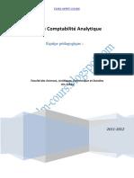 TD Et Corrigé de La Comptabilité Analytique FSJES OFPPT COURS (1) (1)