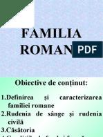 Familia romana 1