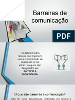 Barreiras de comunicação- aULA DE COZINHA