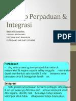 Konsep Perpaduan & Integrasi