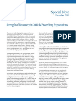 Asian Development Outlook 2010 Special Note - December 2010