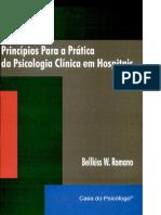 Principios para a prática da Psicologia Clinica em hospitais