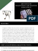 Métodos de diagnóstico de mastite subclínica