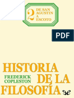Tomo II De San Agustin a Escoto