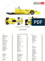 Catalogue Formula Renault 2.0 Tatuus