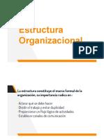 Estructura Org. Db