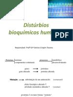 Distúrbios bioquímicos humanos EIM