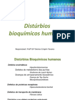 Distúrbios bioquímicos humanos Neurodegenerativos