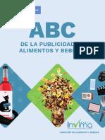 ABC de publicidad en alimentos y bebidas