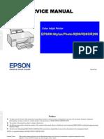 EPSON Stylus Photo R280 R285 R290 Service Manual
