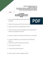 Cuestionario PGN