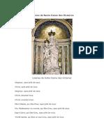 Litanies de Notre Dame des Victoires