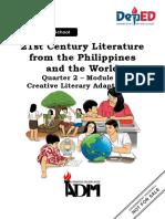 Module 8 21st Century Literature