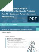 Introdução aos princípios e pratica da gestão de projetos