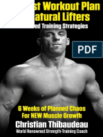 (Thibaudeau, Christian) the Best Workout Plan for Natural Lifters
