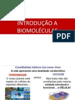 AULA 6 - INTRODUÇÃO A BIOMOLÉCULAS