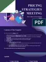 Pricing Strategies Meeting by Slidesgo
