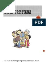 Presentación Ética Cristiana
