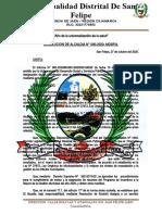 Resolucion de Coordinador Del Plan de Incentivos