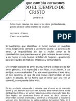 EL AMOR QUE CAMBIA CORAZONES