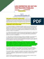 EDITORIAL  DIARIO DE SEVILLA- VERSIÓN DE UGT.....LOS EXPERSOS EN ADMON. PUBLICA-2V