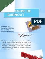 E4 EXPOSICION SINDROME DE BURNOUT. Grupo de Lina Marcela Caicedo Marin