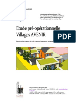 Etude villages AVENIR de Remilly-sur-Tille (2011)
