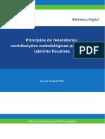 ARTIGO _ BNDES Princípios do federalismo  contribuições metodológicas para sair do labirinto fiscalista
