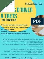 Cap Etincelles Stages Hiver 20 21