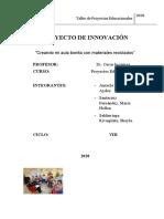 Proyecto Mi Aula Bonita Examen Final