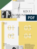 Ppt Kd 3.1 Komunikasi