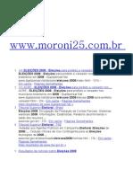 Eleições 2008 Fortaleza Moroni Ganha Primeiro Turno