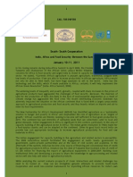 SSC- CFP- India-Africa, Agricultural Investments