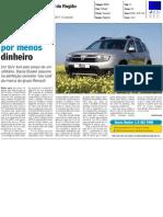 DACIA DUSTER 1.5 dCi 110 CV 4x4 NO JORNAL DA REGIÃO