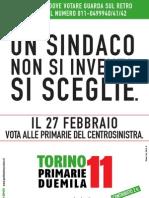 VOLANTINO-PRIMARIE Torino