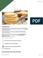 Ricetta Biscotti al burro - Consigli e Ingredienti | Ricetta
