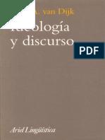 Ideología y Discurso by Teun a. Van Dijk