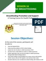 sesi 16 -HIV and Breastfeeding
